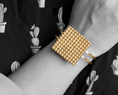 Lego chunk bracelet thumb