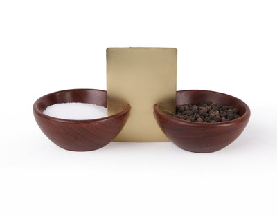 Square metal small bowl thumb