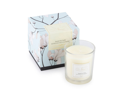 Honeysuckle jasmine soy candle thumb