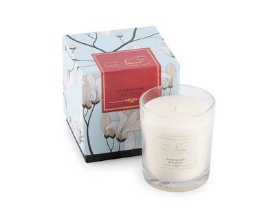 Red spice soy candle thumb