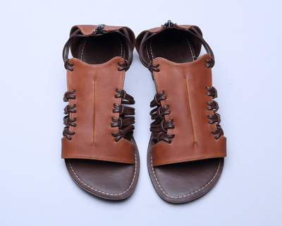 Amber lace sandals thumb