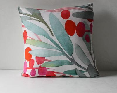 Nymeria floral print cushion cover thumb