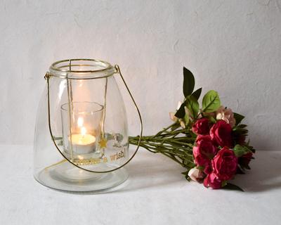 Sabrina glass lantern thumb