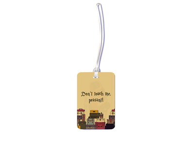 Peasant luggage tag thumb