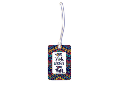 Vibe tribe luggage tag thumb