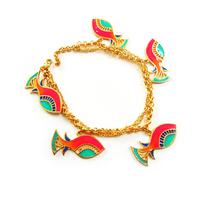 Fish charm bracelet small