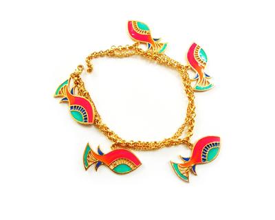 Fish charm bracelet thumb