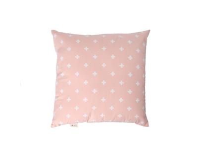Square cushions nordic cross dusty rose thumb