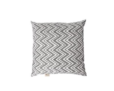 Square cushions chevron black white thumb