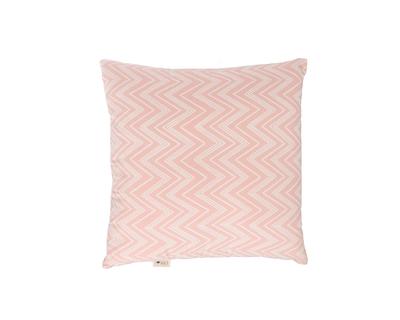Square cushions chevron dusty rose thumb