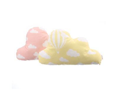 Cloud cushions cloud dusty rose sunny yellow thumb