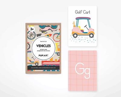 Flash cards vehicles thumb