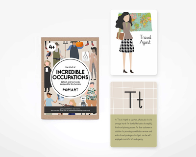 Flash cards incredible occupations thumb