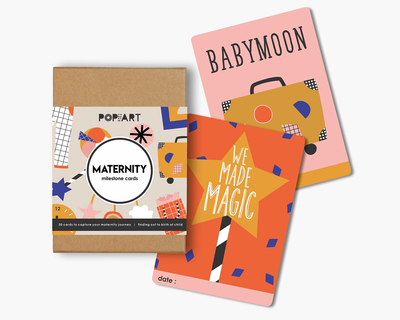 Maternity mini milestone cards thumb