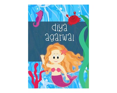 Mermaid notebook thumb