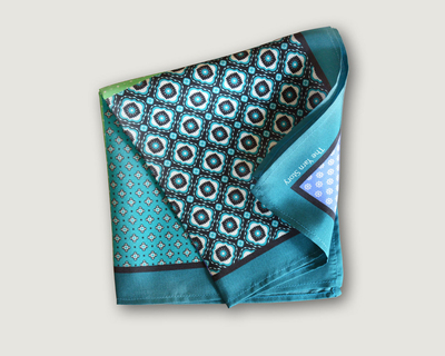 4 macro green pocket square thumb