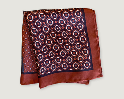 4 macro maroon pocket square thumb