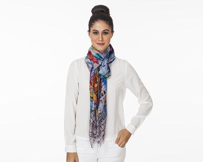 Ember rose square scarf thumb