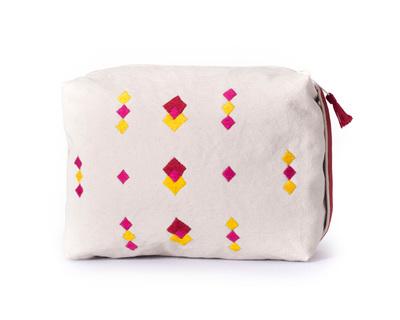 Kora caba box pouch red thumb
