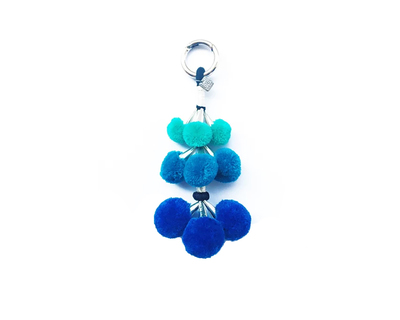 Angoor dangler blue key chain thumb