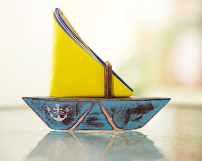 Paperboat napkin toothpick holder thumb