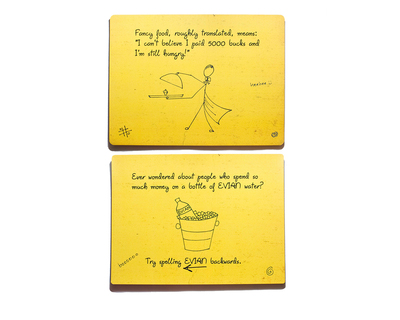 Thoughts for food mats set of 6 thumb