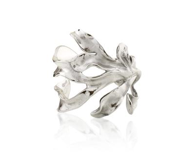 Sirena cuff silver thumb