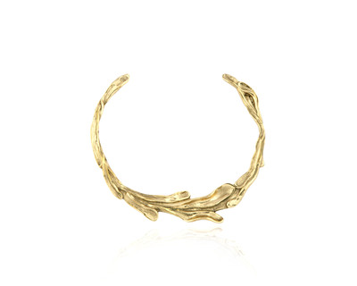 Sirena collar necklace gold thumb