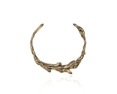Sirena collar necklace espresso thumb