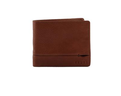 Tanner bi fold wallet tan thumb