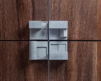 Community 7 miniature home concrete knobs thumb