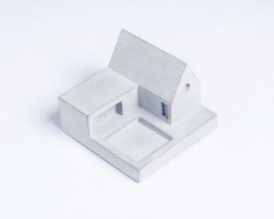 Miniature home concrete knob b thumb