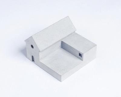 Miniature home concrete knob d thumb
