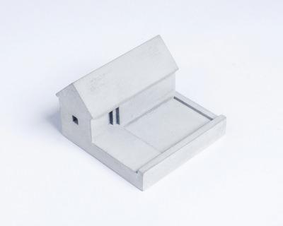 Miniature home concrete knob f thumb