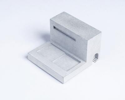 Miniature home concrete knob i thumb