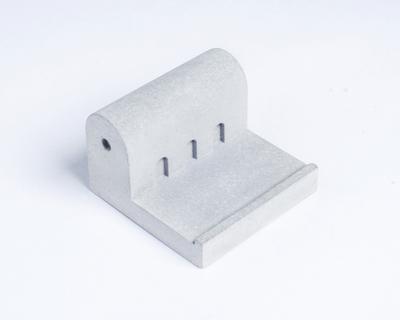 Miniature home concrete knob k thumb