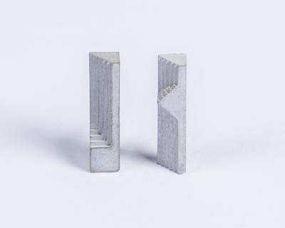 Micro concrete earrings 7 thumb