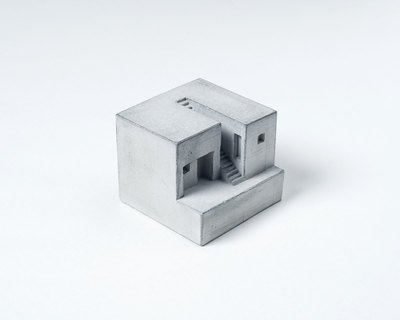 Miniature concrete home 4 thumb