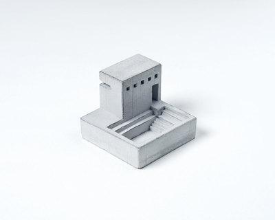 Miniature concrete home 5 thumb