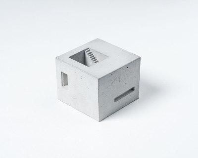 Miniature concrete home 6 thumb