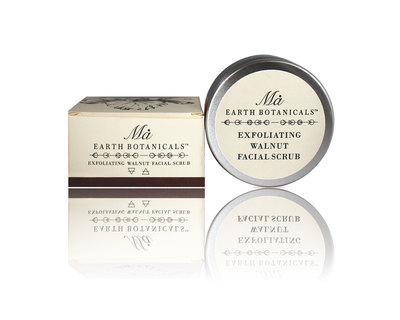 Exfoliating walnut facial scrub thumb