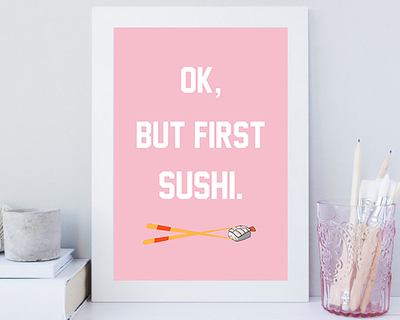But first sushi thumb