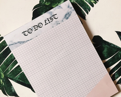 To do list note pad thumb