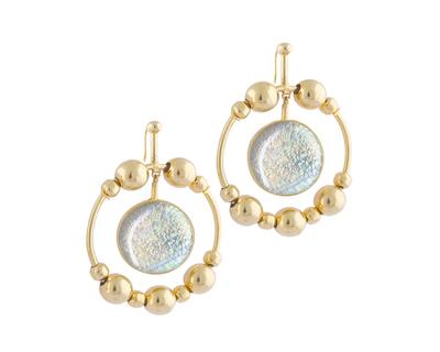 Solar earrings thumb