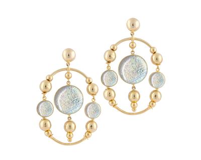 Garland earrings thumb
