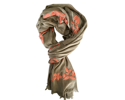 Bewitched khaki scarf thumb