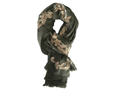 Bewitched green scarf thumb