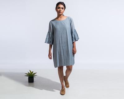 Sienna dress grey thumb