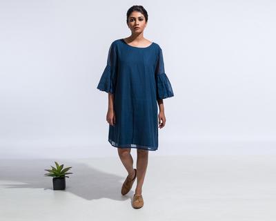 Sienna dress blue thumb