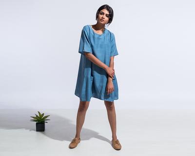 The katherine dress blue thumb